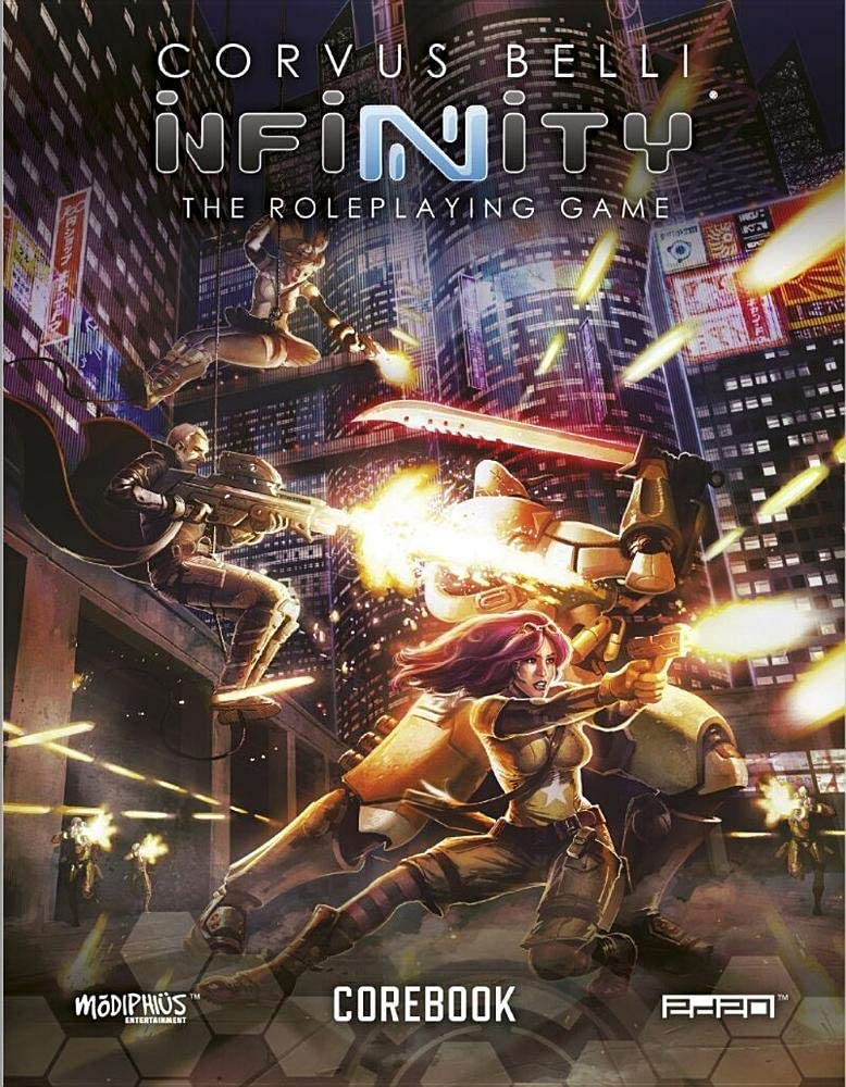 Corvus Belli Infinity the RPG for only $32.21