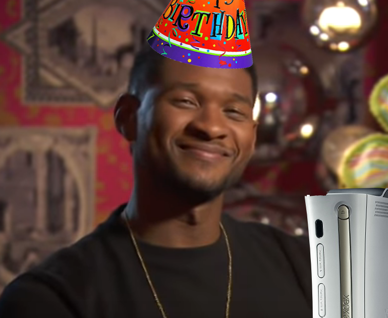 Happy Birthday, Usher.