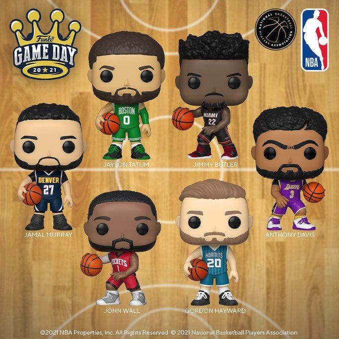 Funko Game Day 2021: Pop! NBA available for Pre-Order on Amazon  Link -