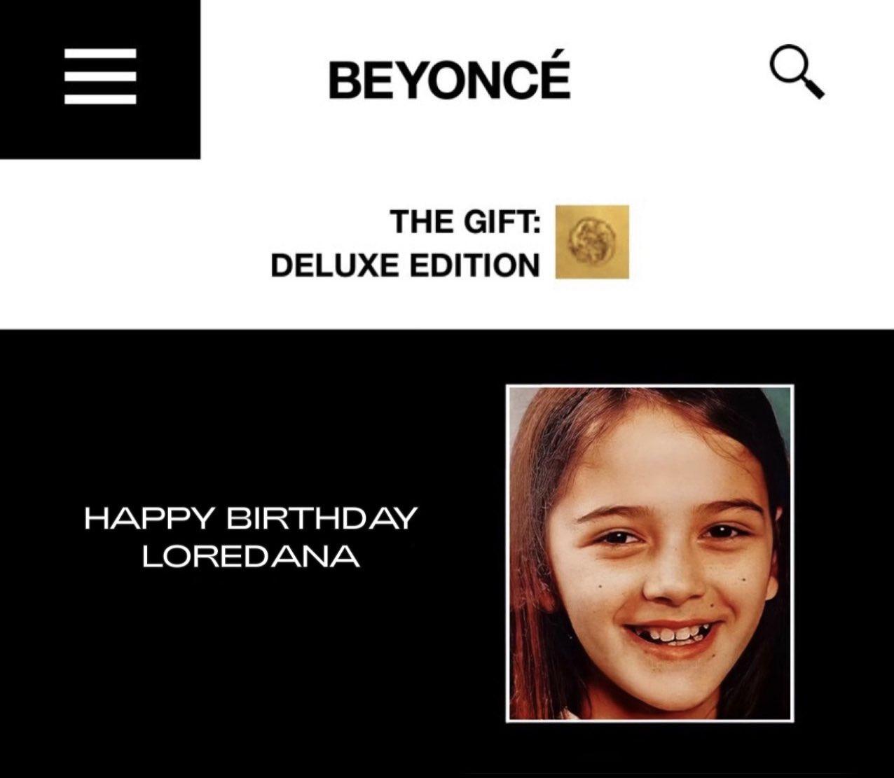   wishing a happy 26th birthday via her website!