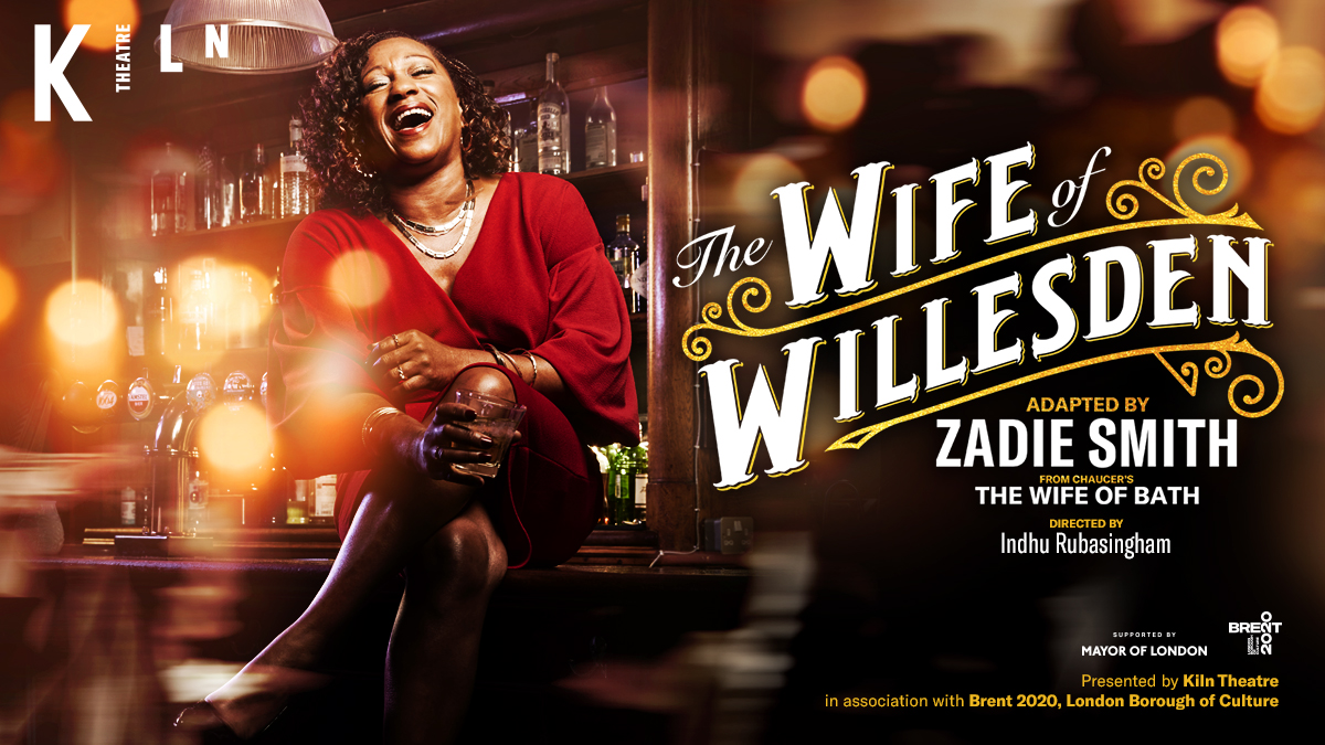 A proper local legend. Alvita will tell her life story to anyone. The question is: are you ready to hear it? #ClarePerkins stars in #ZadieSmith's #TheWifeOfWillesden💍 from 11 Nov. Dir @IRubasingham. Priority access now available for #KilnCard holders. 👉kilntheatre.com