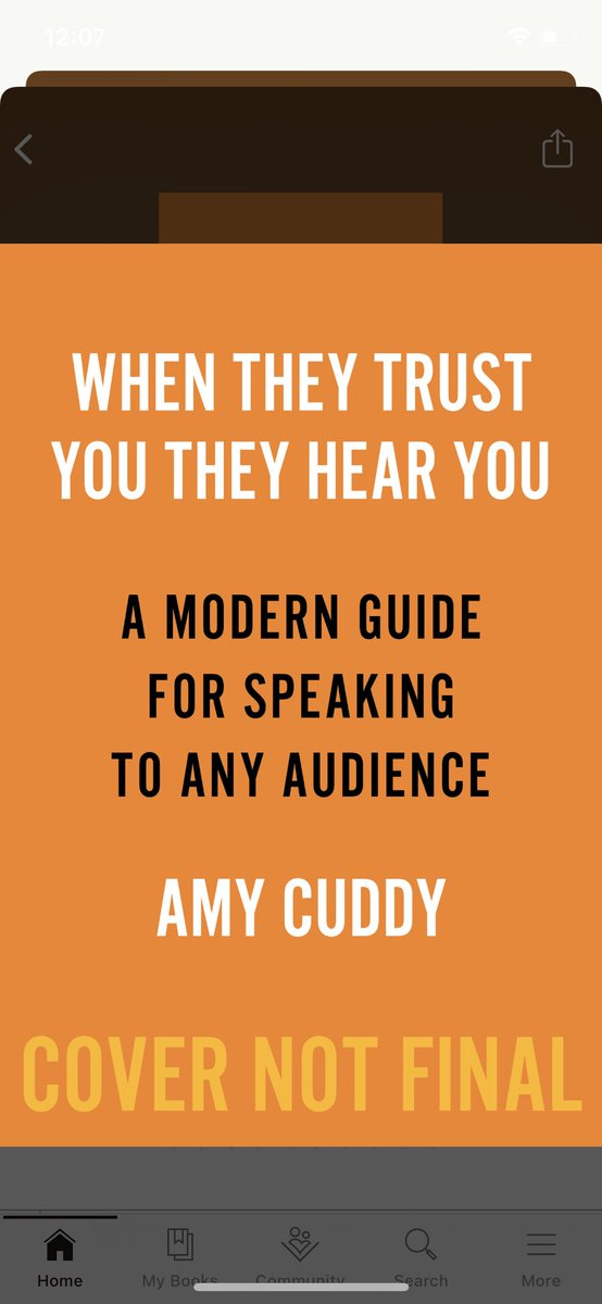 This dropped in the @goodreads email @Rachel0404 - this'll be slipping onto your bookshelf soon enough! 😍 patiently waiting book tour by @amyjccuddy