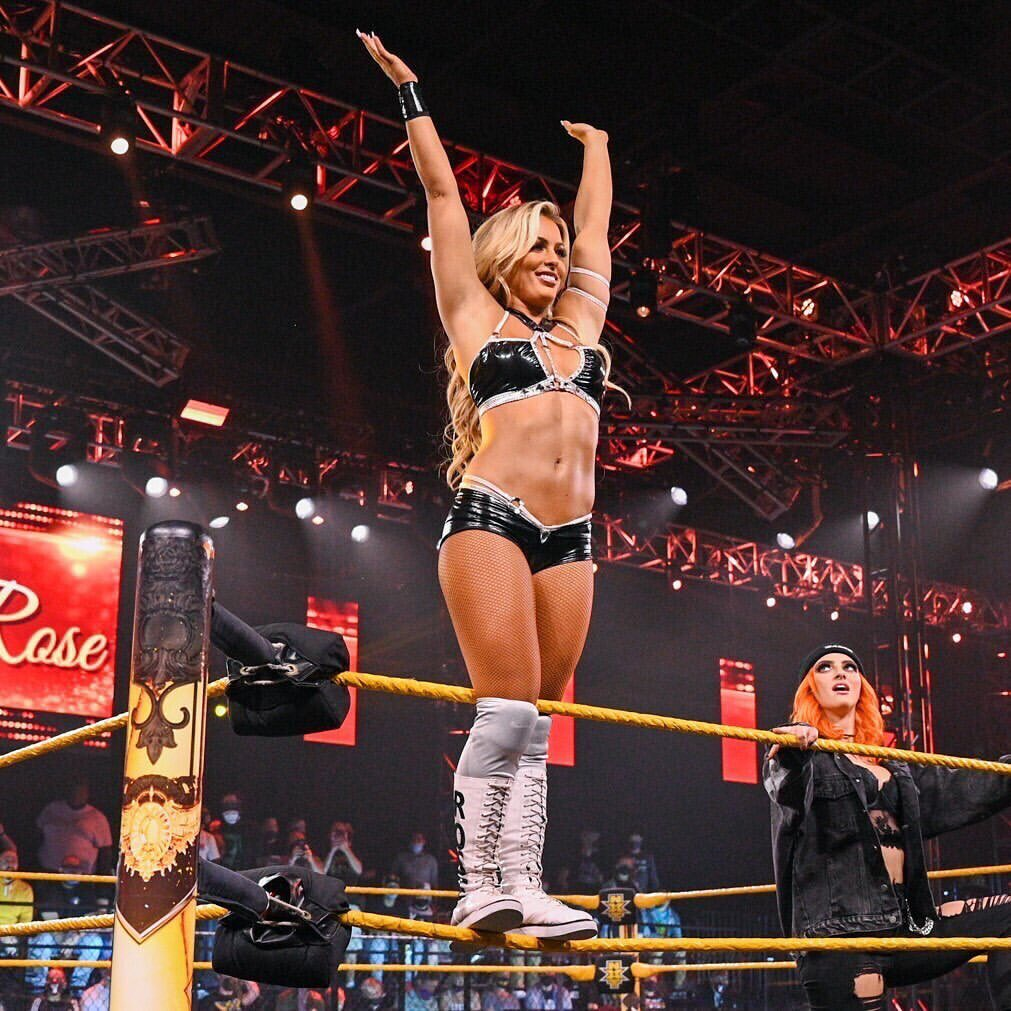 Mandy Rose Shares Sexy Photos From WWE NXT In-Ring Return 145