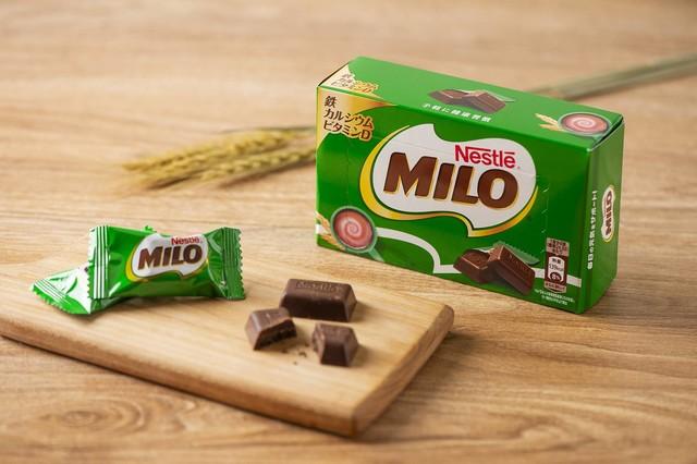 手軽に食べられるミロのチョコバージョン「ミロボックス」が登場‼