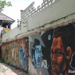 Image for the Tweet beginning: #VirtualThailand: Street art on the