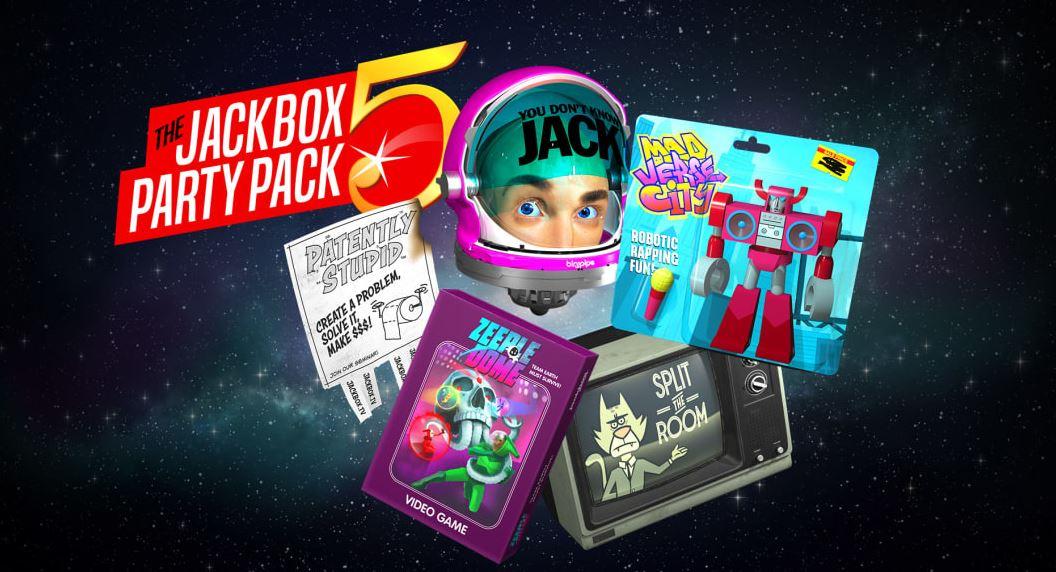 The Jackbox Party Pack 5 (S) $17.99 via eShop.    Pack 3 $16.24