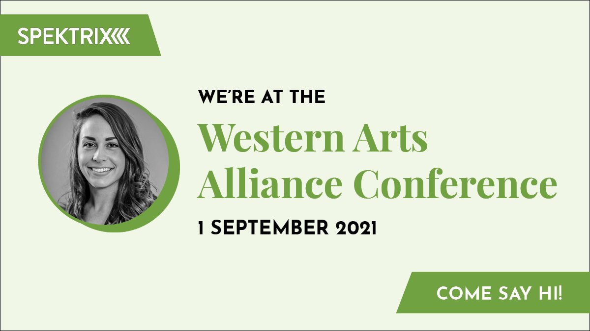 We're delighted to be at the @westarts Conference today! Say hi to our Senior Account Executive Karen Elizondo during networking time from 10:15 am - 11:30 am PT, or join us virtually at #WAA21.