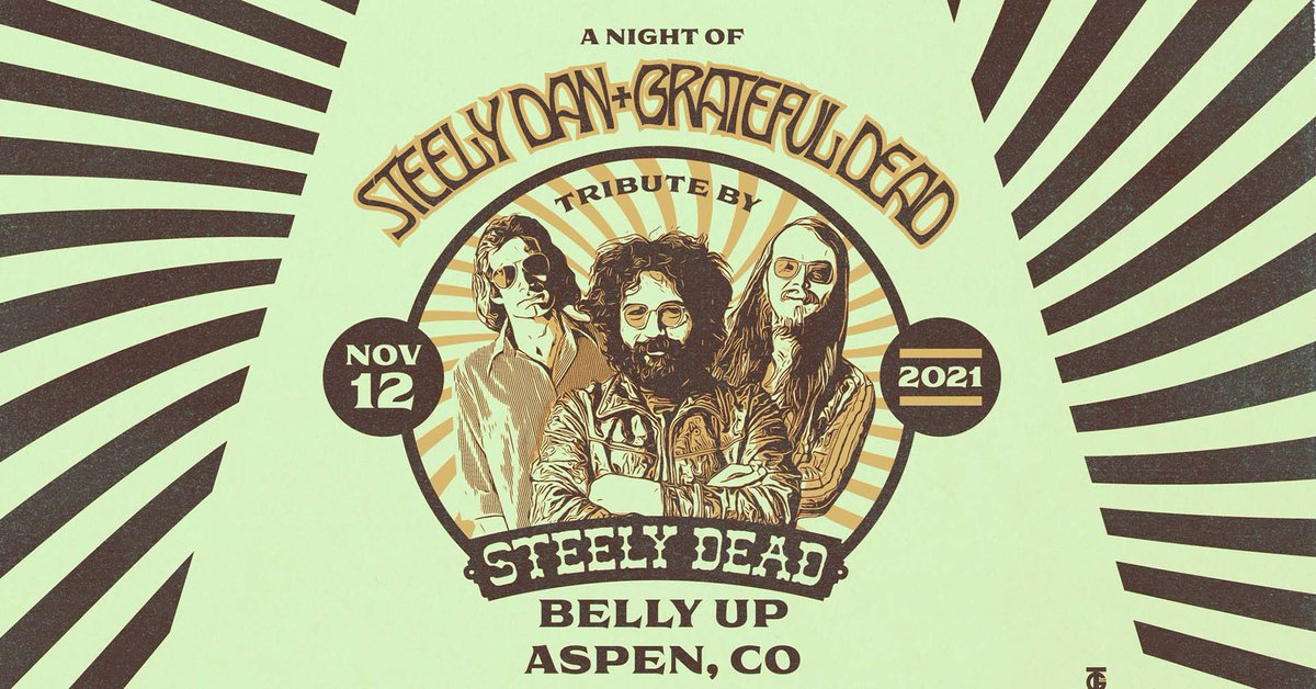 Combining the music of the Grateful Dead and Steely Dan, @SteelyDead comes Friday, November 12! Tickets: bit.ly/3gRLMzx