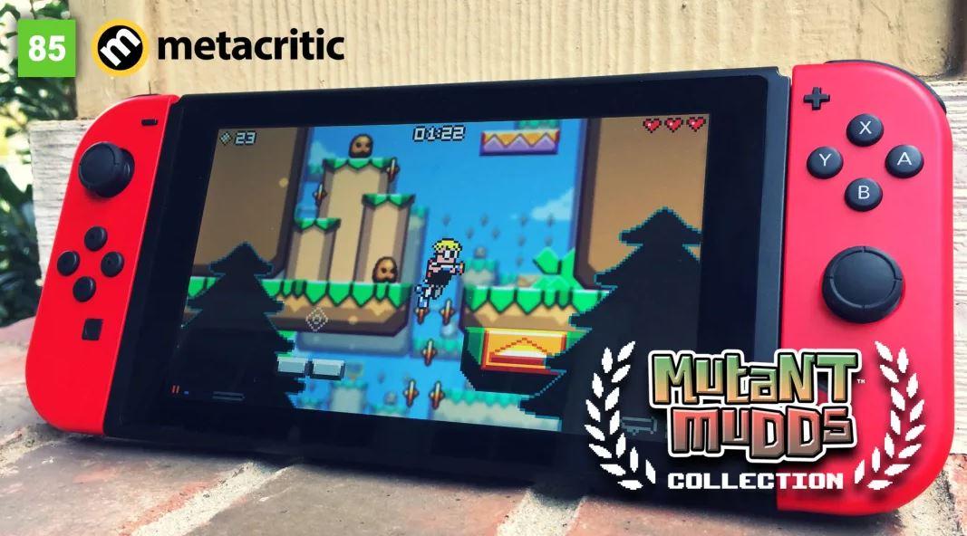 Mutant Mudds Collection (S) $2.99 via eShop.