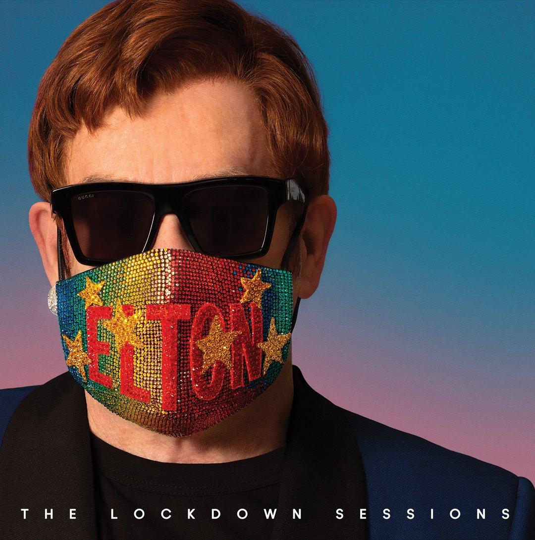 Elton John 'The Lockdown Sessions' album cover (Image: Twitter/Elton John)