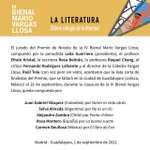 Image for the Tweet beginning: La Cátedra Vargas Llosa anuncia