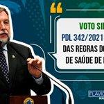 Image for the Tweet beginning: Somos a favor do PDL