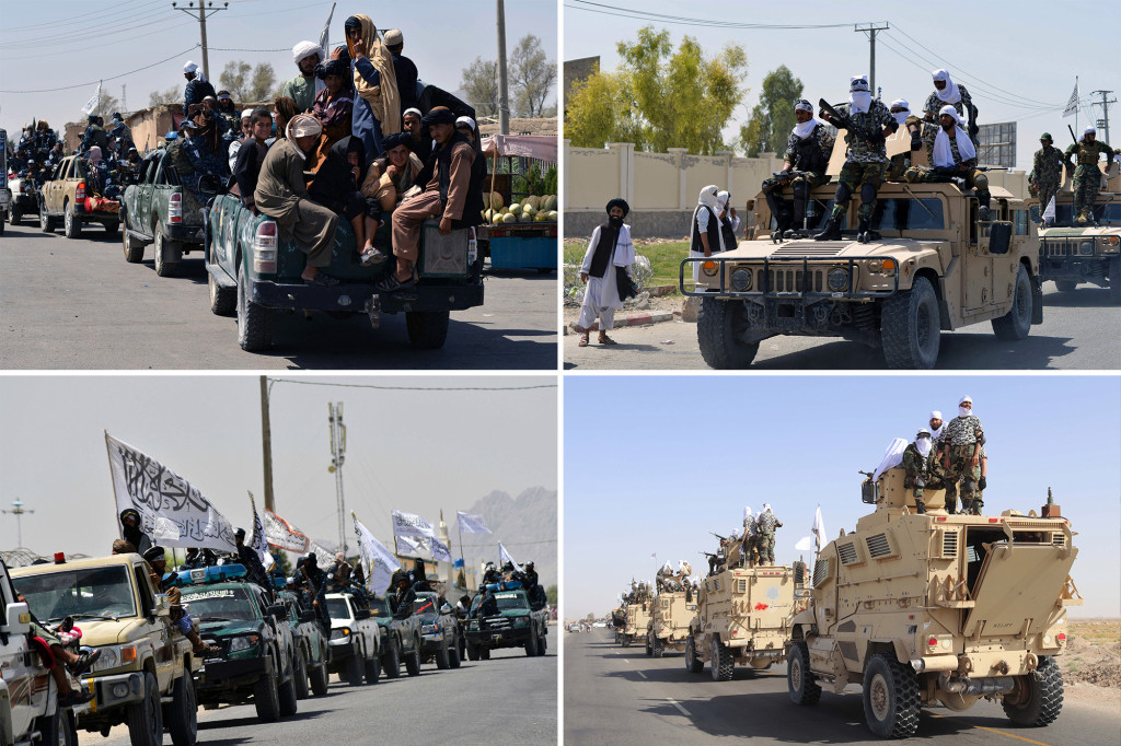 """New York Post on Twitter: """"Taliban throws victory parade with US military  equipment https://t.co/iJPgEc6obP… """""""