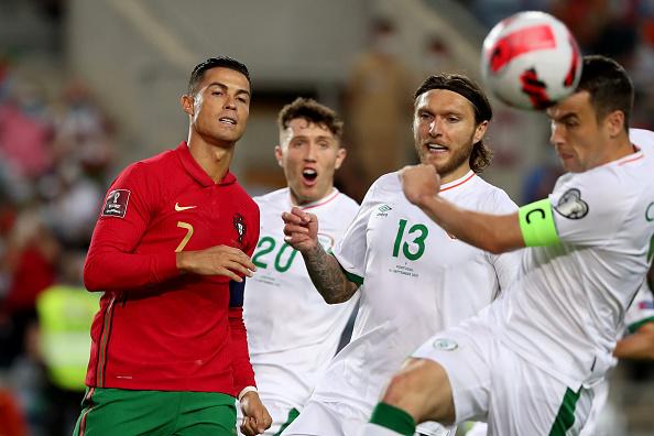Portugal vs Irlanda 1-1 Eliminatorias UEFA 2022