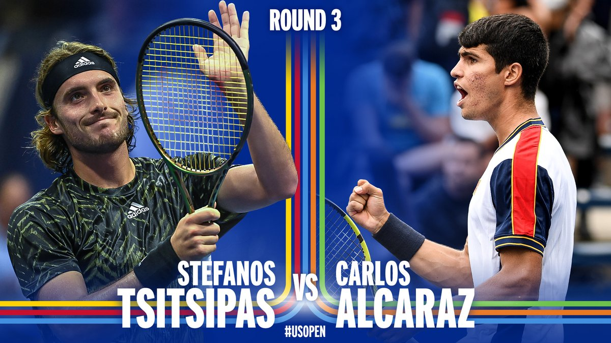 Tsitsipas 🆚 Alcaraz   We are READY for this Next Gen battle.