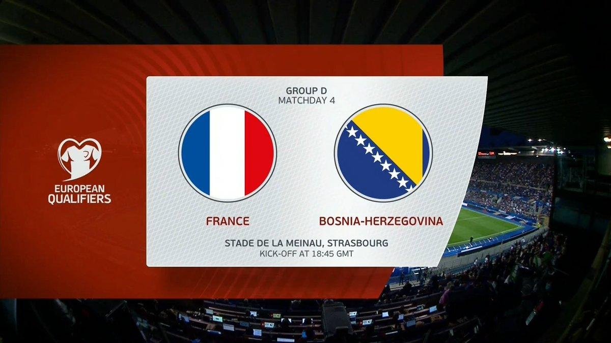 Full match: France vs Bosnia-Herzegovina