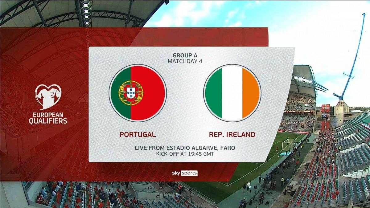 Full match: Portugal vs Republic of Ireland