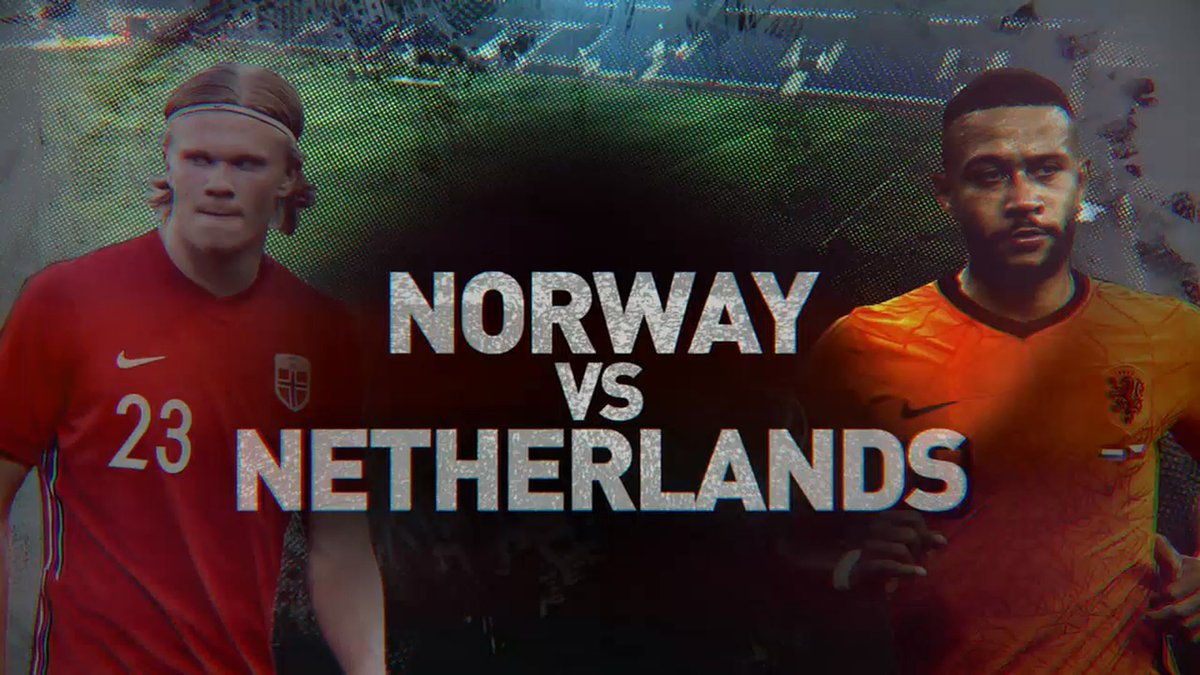 Full match: Norway vs Netherlands