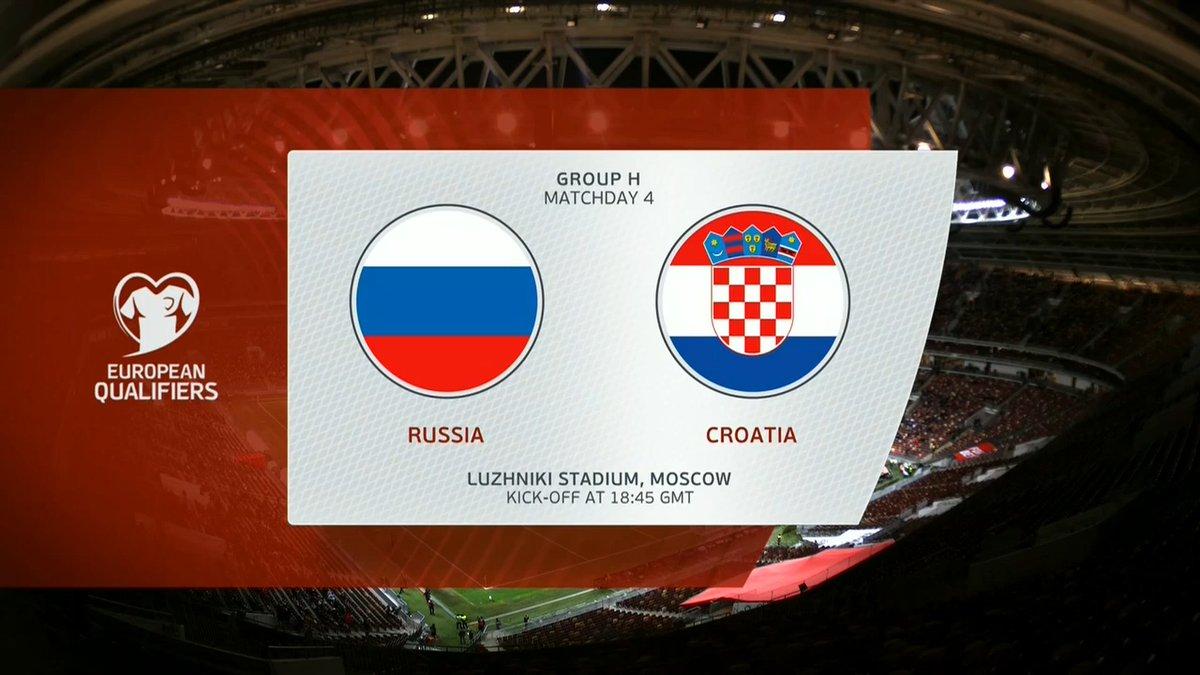 Full match: Russia vs Croatia