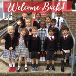 Welcome back! The children have settled into their new classrooms and routines and are having a fantastic first day back! #firstdayback #firstdayofschool #copthorneprepschool