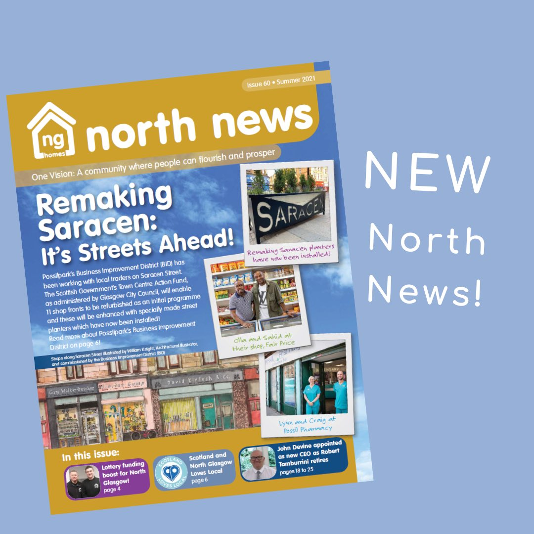 New North News!   Issue 60 of North News is now available to read online! We have some special news to mark the 60th issue, along with amazing community news and stories, helpful information and ng news!   Visit https://t.co/edIYblVzIQ to read the latest issue of #NorthNews! https://t.co/CGl2NzyOjq