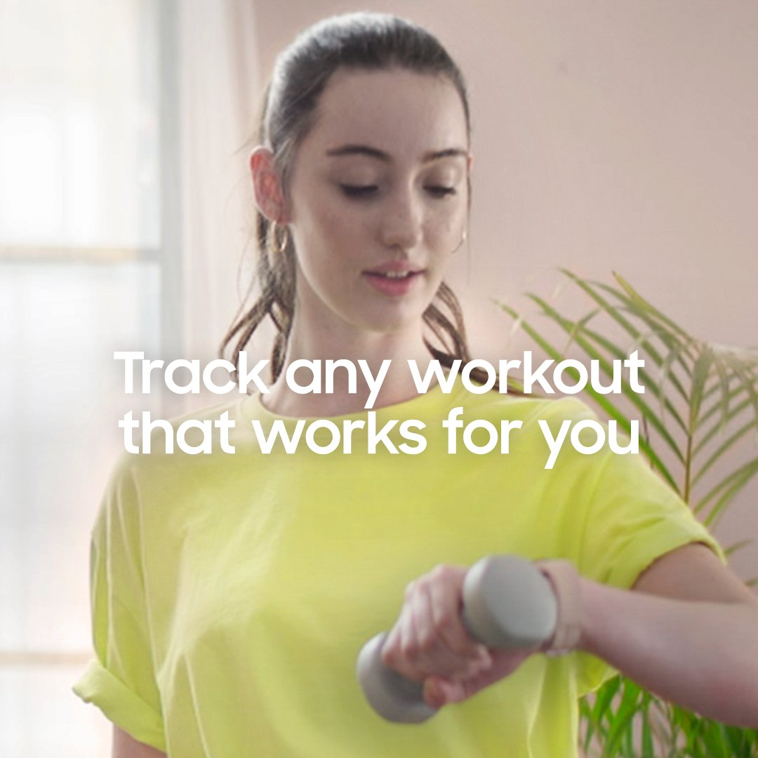 Track any workout that works for you. The Galaxy Watch4 tracks a variety of exercises right from your wrist, for everyday wins and even bigger goals. #GalaxyWatch4 Series The watch that knows you best.  Learn more: https://t.co/Kor7LSodfU https://t.co/UpwNrQI4KI