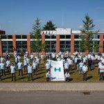 Image for the Tweet beginning: Ausbildungsstart 2021 mit 122 Auszubildenden