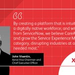 Image for the Tweet beginning: The future of service experience