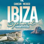 Image for the Tweet beginning: Ibiza is heading to Cancun