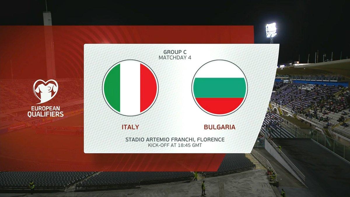Full match: Italy vs Bulgaria