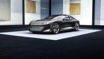 Audi's Grandsphere concept car is a dreamy autonomous luxury EV