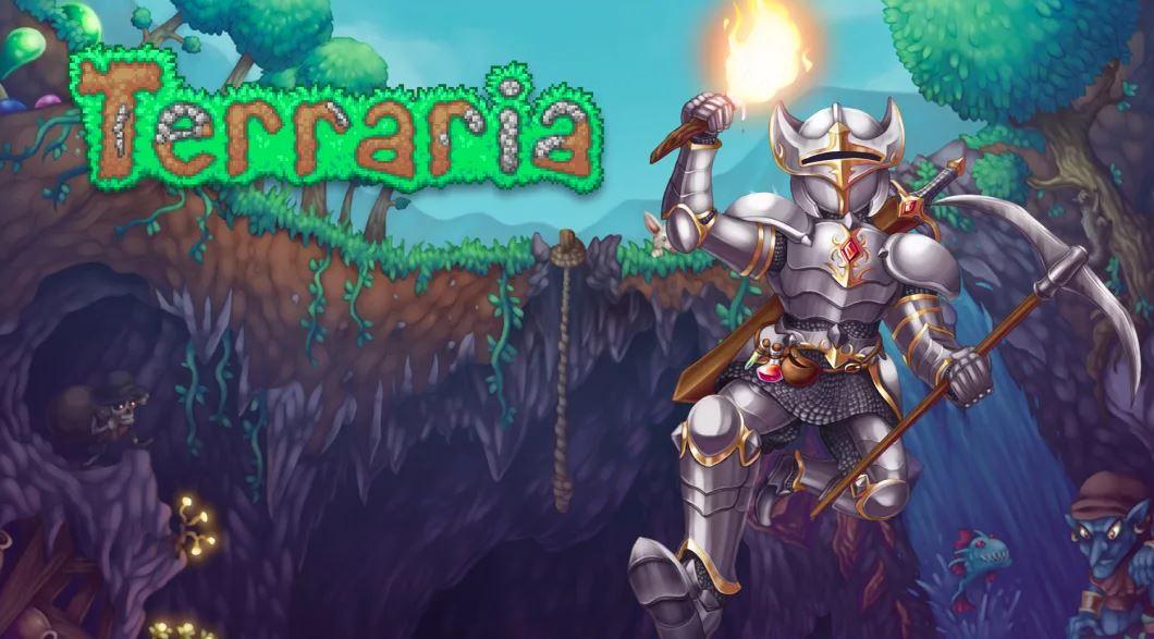 Terraria (S) $14.99 via eShop.