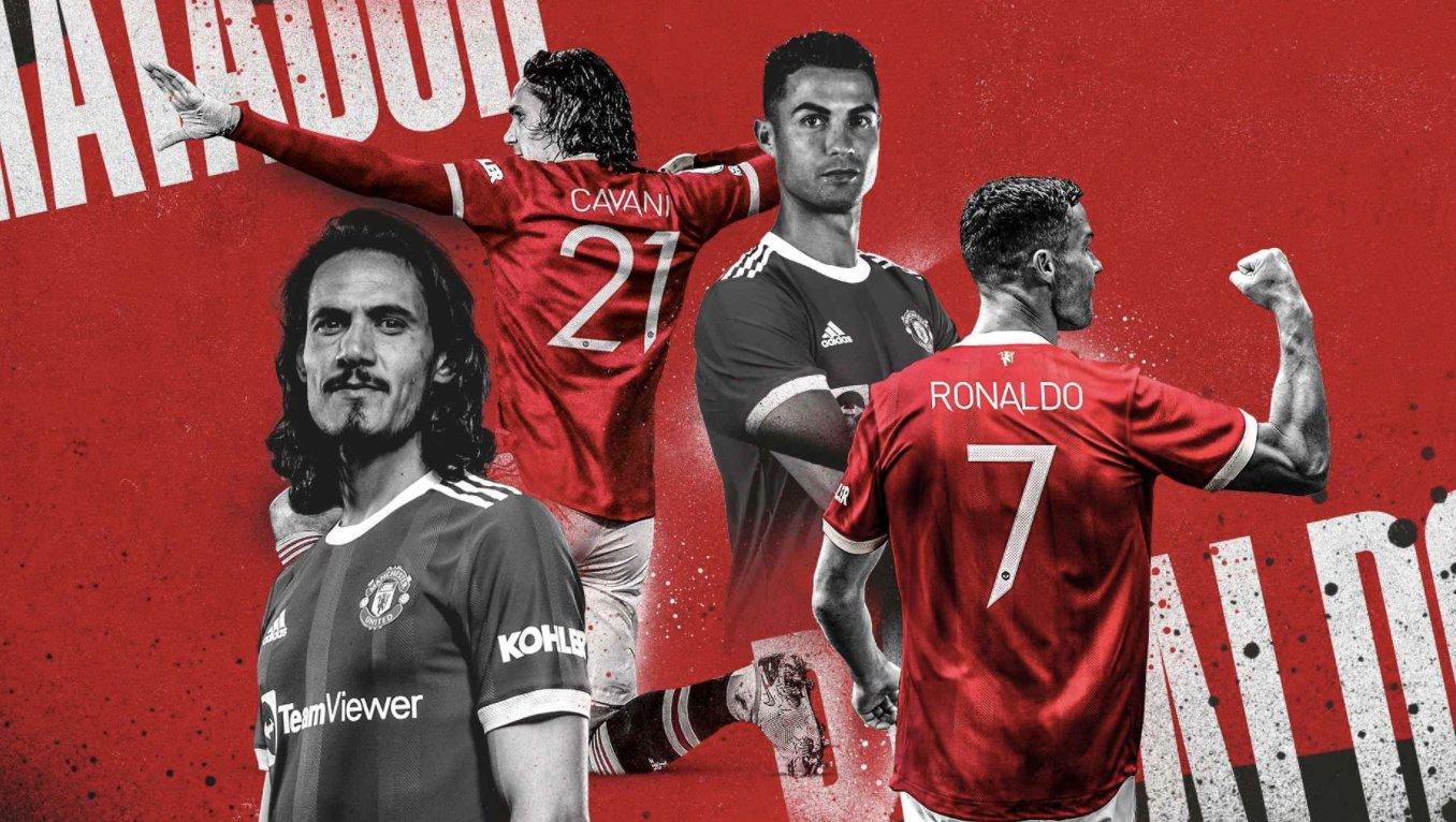 Man Utd: Cristiano Ronaldo portera le numéro 7 , voici le nouveau dossard d'Edinson Cavani