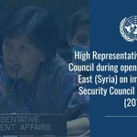 Image for the Tweet beginning: Today, High Representative for Disarmament