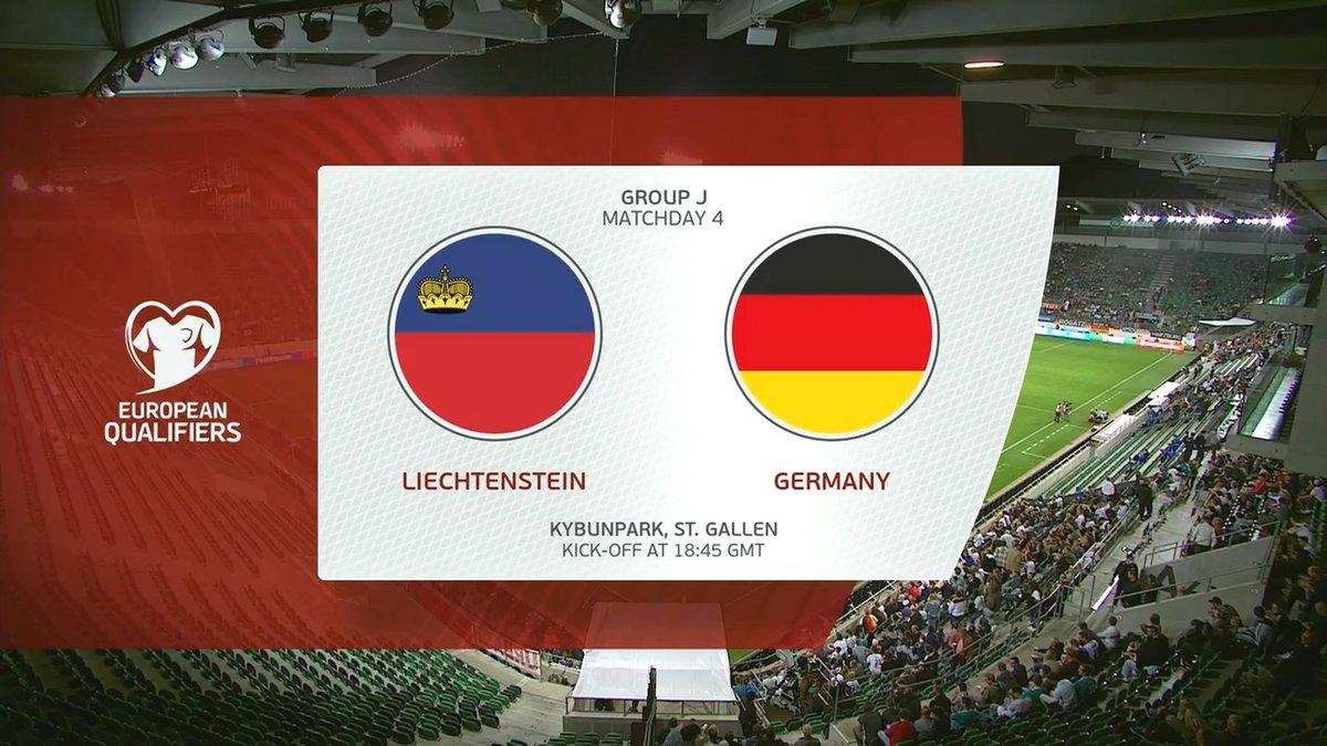 Full match: Liechtenstein vs Germany