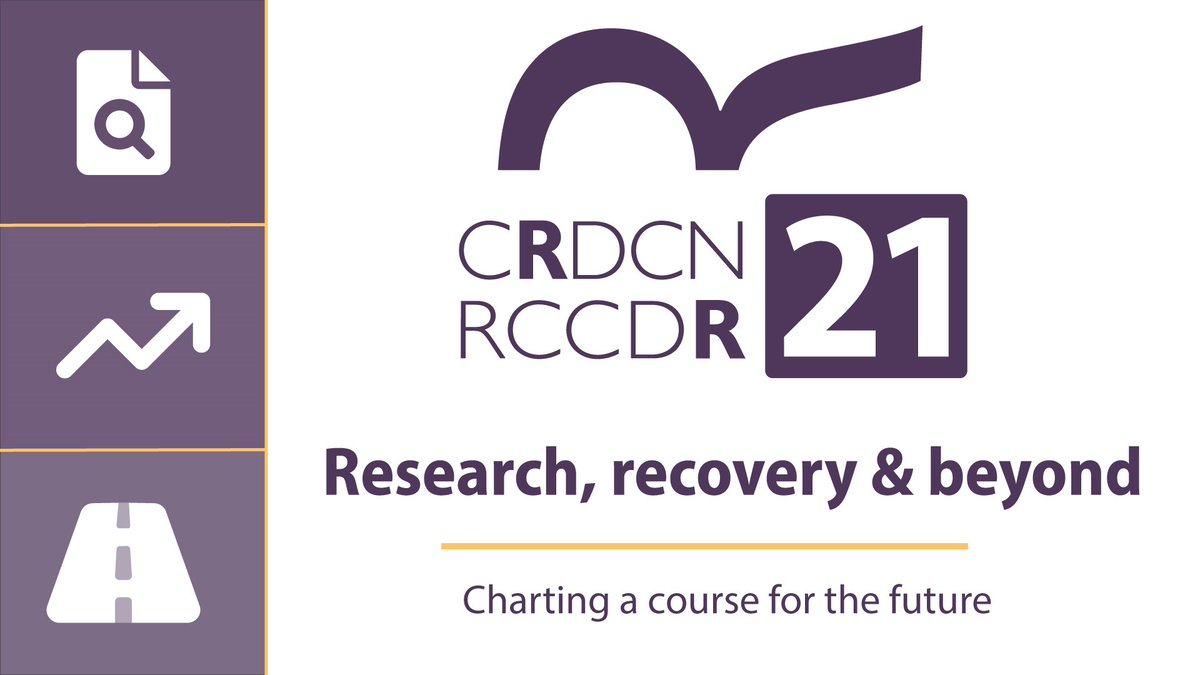 #CRDCN21 begins today! There's still time to register for some great conversations around using #DataForGood, #Knowledge mobilization and other  #Research updates!