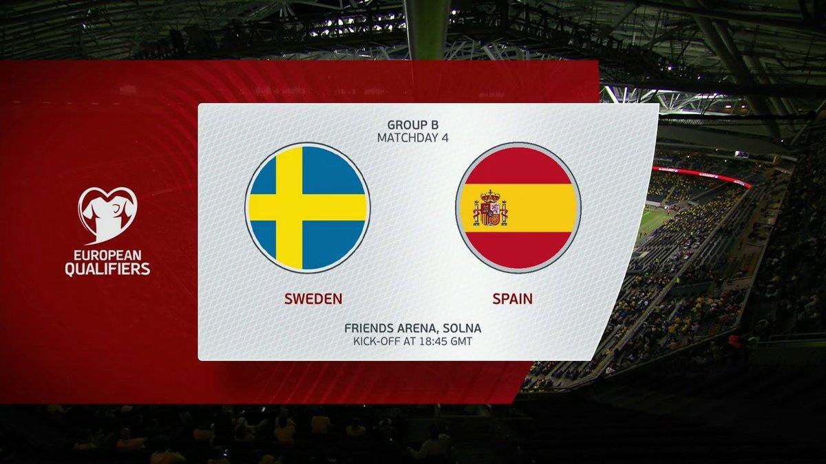 Full match: Sweden vs Spain