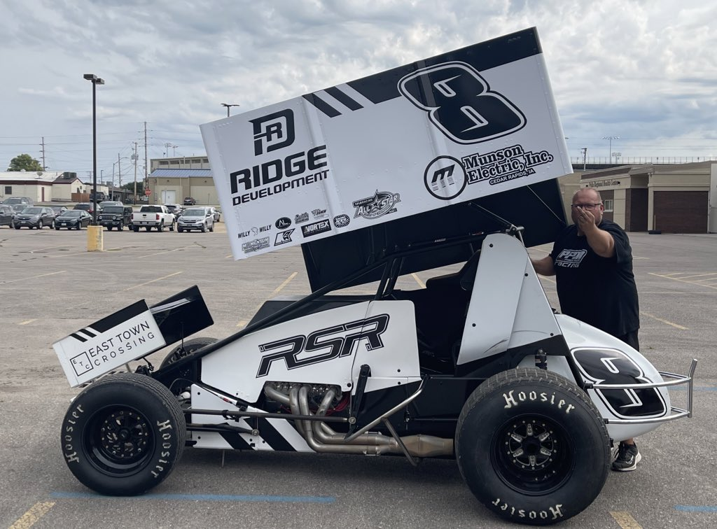 Aaron Reutzel set to return to racing this weekend with the @ASCoC. 👇🏼
