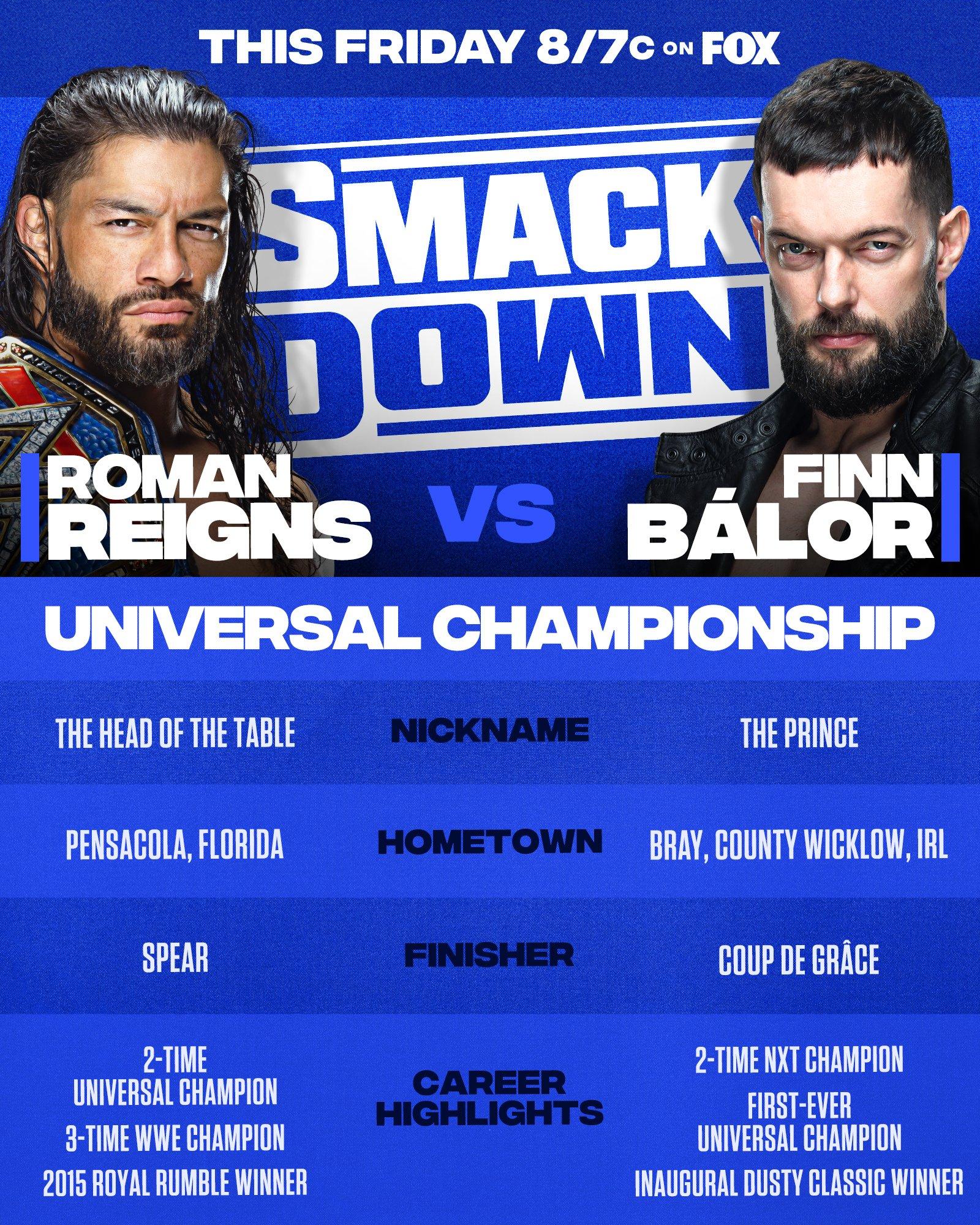 WWE Smackdown Preview (03/09/21): Roman Reigns vs. Finn Balor 20