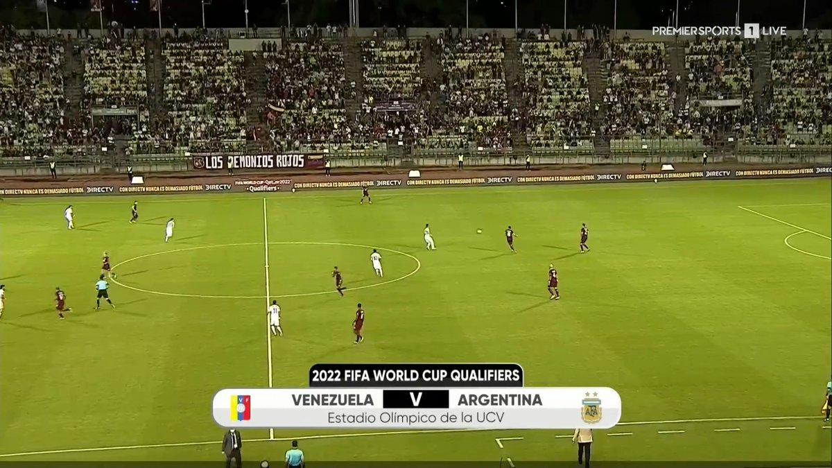 Full match: Venezuela vs Argentina