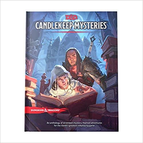 Candlekeep Mysteries D&D Adventure Book  40% off