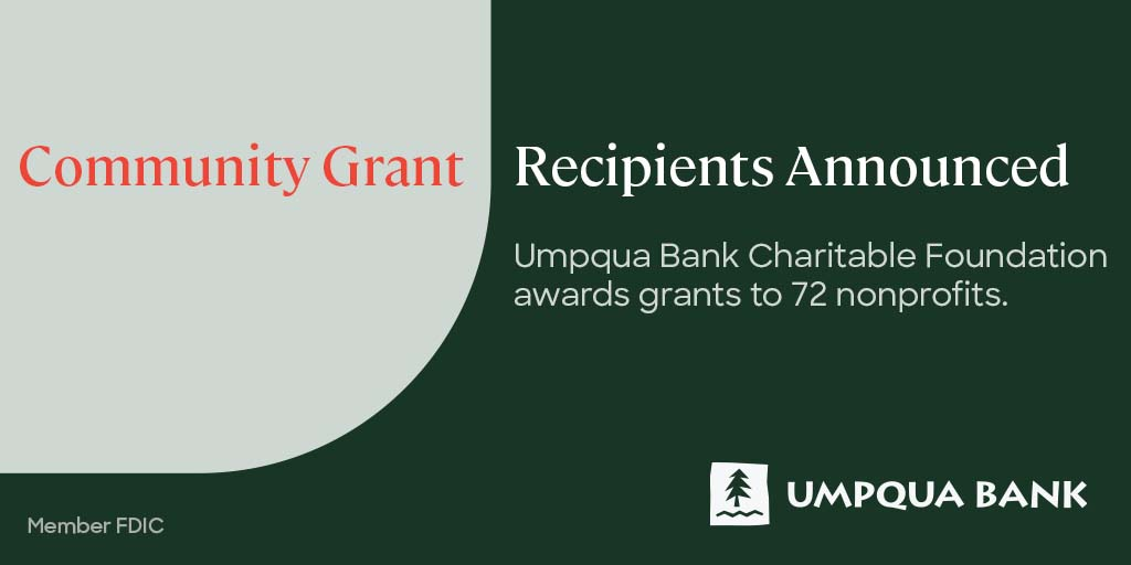 Rebuilding Together Northern Nevada was grateful to be one of the grant award recipients to receive funding to support our mission of repairing homes, revitalizing communities and rebuilding lives. Thank you Umpqua Bank!🏡💚  #WeAreRebuilders