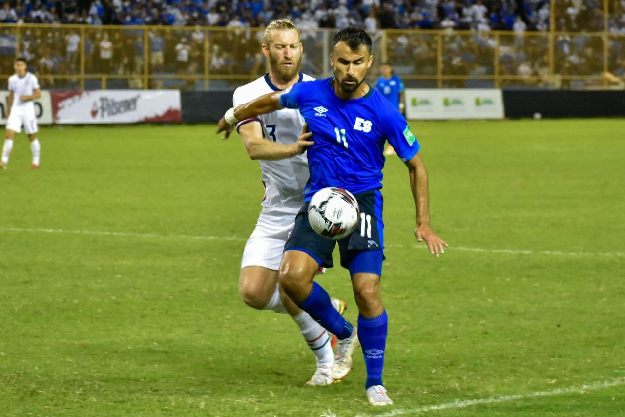 El Salvador vs Estados Unidos 0-0 Octagonal Final CONCACAF 2022