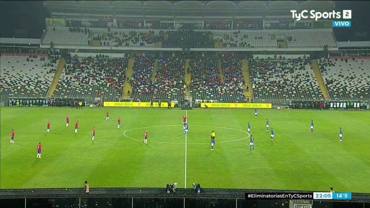 Full match: Chile vs Brazil