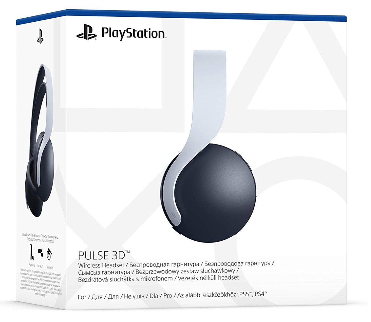 Sony Pulse 3D Headset PS5 $99.00 Amazon 6