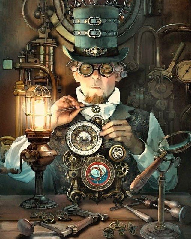 My Daily #Steampunk ⚙️ #Geek 🤓 #Space 🚀 #SamaCollection 🗞️ of Tweets ➡️ @nuriacbotey @garyerskine ⭐ Feat. @Kotobarz ➡️ View More Selections 👉 https://t.co/qcfYSH6zDC