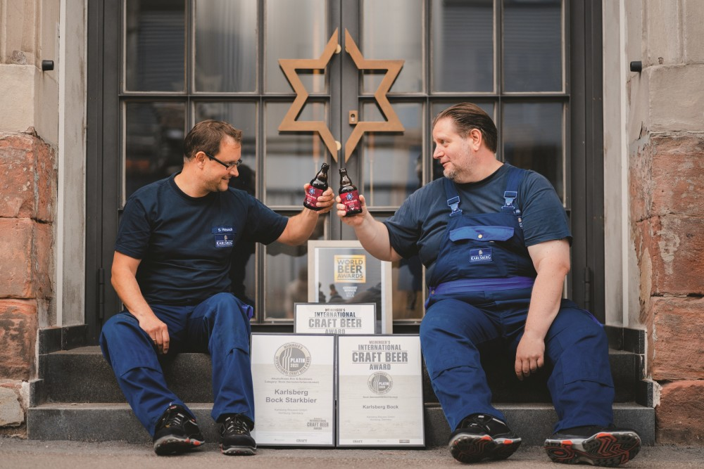 Bereits zum dritten Mal wurde Karlsberg Bock – die perfekte Bierspezialität zur kalten Jahreszeit – beim Meininger International Craft Beer Award als bestes Bockbier Deutschlands mit dem Platin Award ausgezeichnet.  https://t.co/EuXOwAqI0T https://t.co/FulGq426Rp