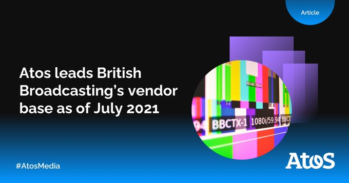 [#AtosMedia] We are glad to share that out of 61 vendors of the British...