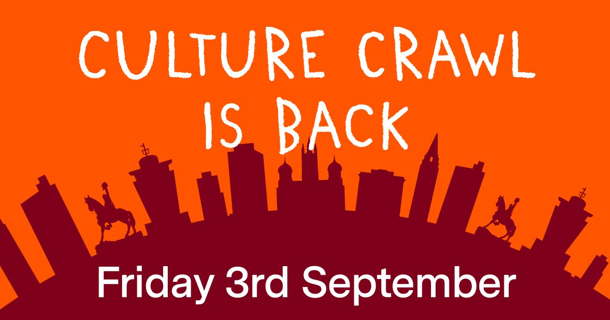 At long last we can say - Culture Crawl 2021 here we go! Have fun tonight, take care and remember to post your selfies!