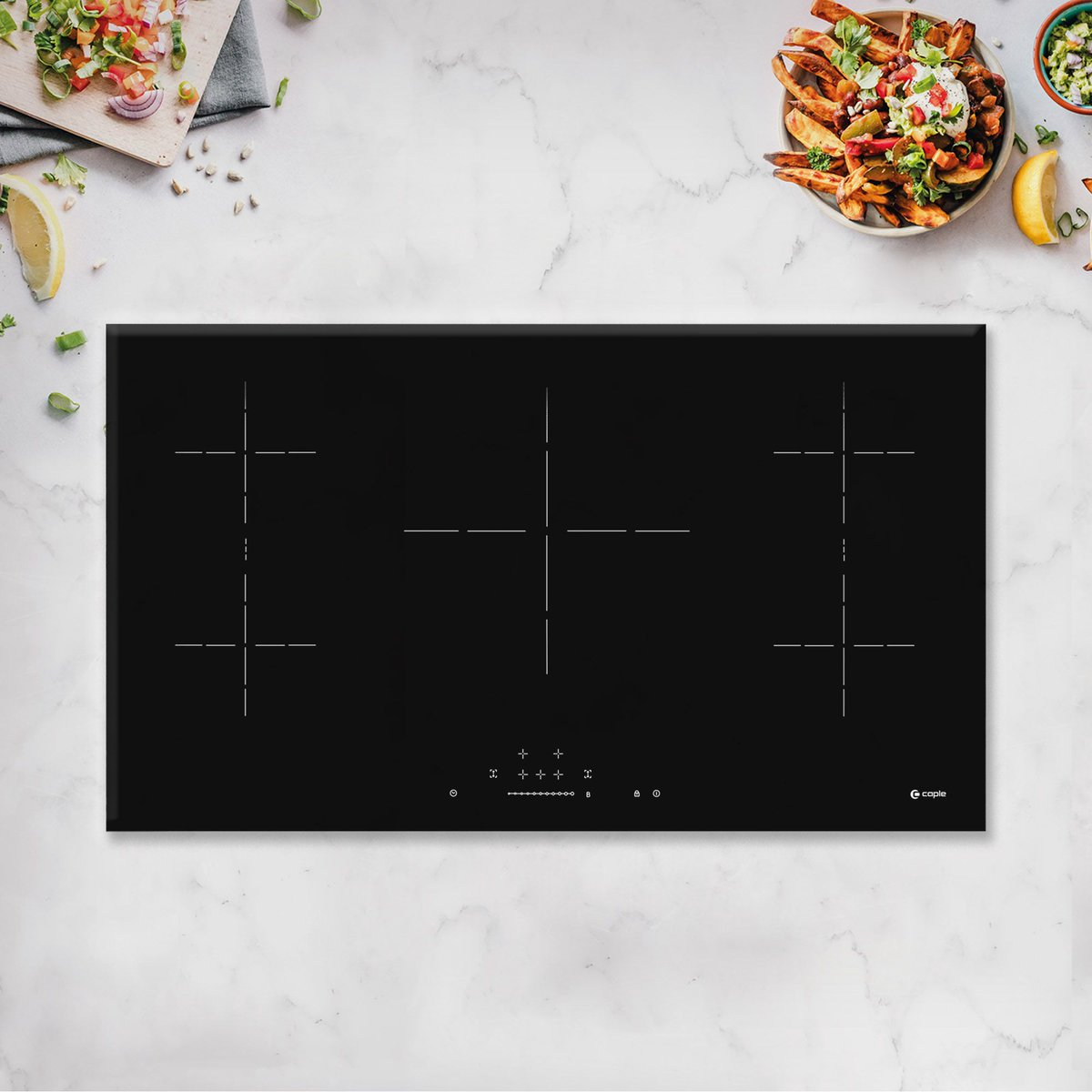 What are you cooking up this weekend?😋 Our new frameless C897i induction hob is perfect if you're cooking for a crowd. The programmable timer allows you to set a cooking duration and finishing time for each individual zone. See More: buff.ly/3sZinYU #CapleQuality